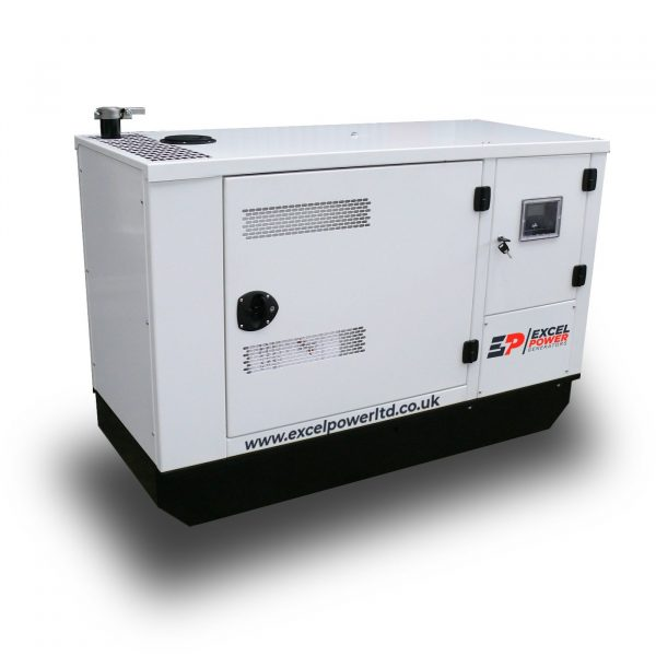 EXCEL1600A10kVA Perkins Standby Diesel Generator Right view 1