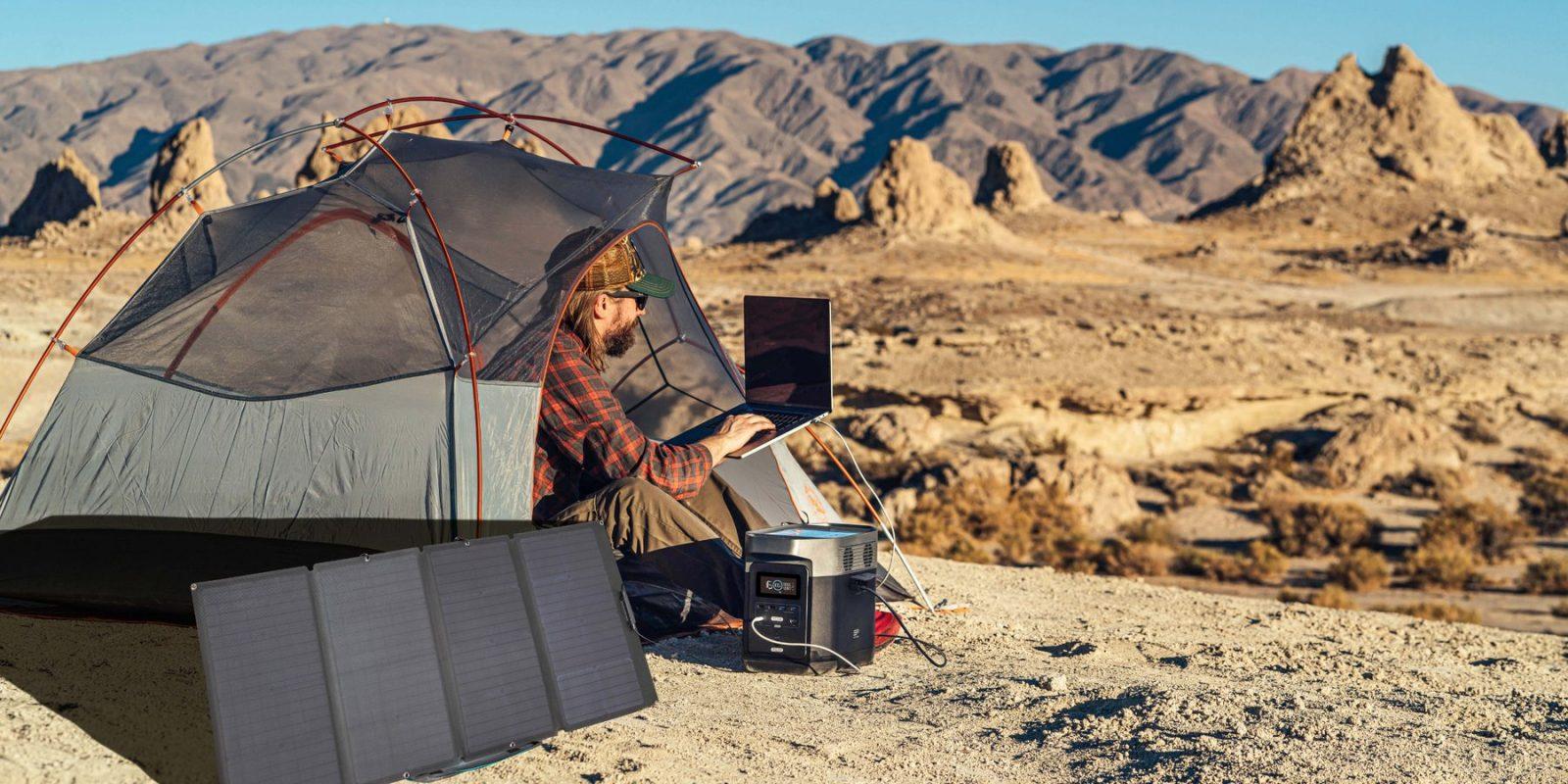 EcoFlow 160W Solar Pane Lifestyle