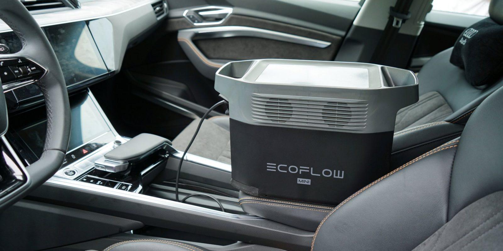 EcoFlow Delta Car Charging