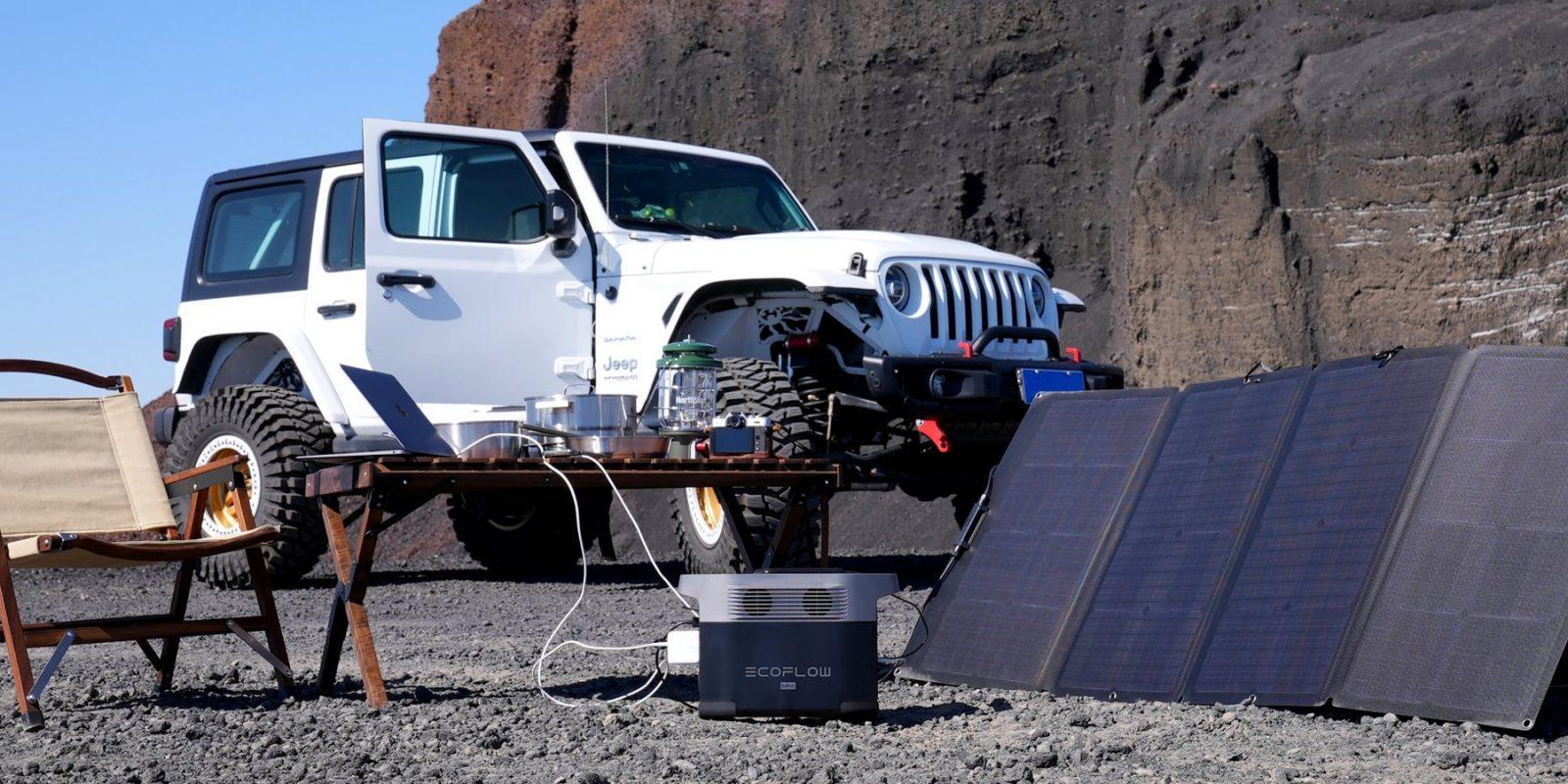 EcoFlow Delta Solar Charging