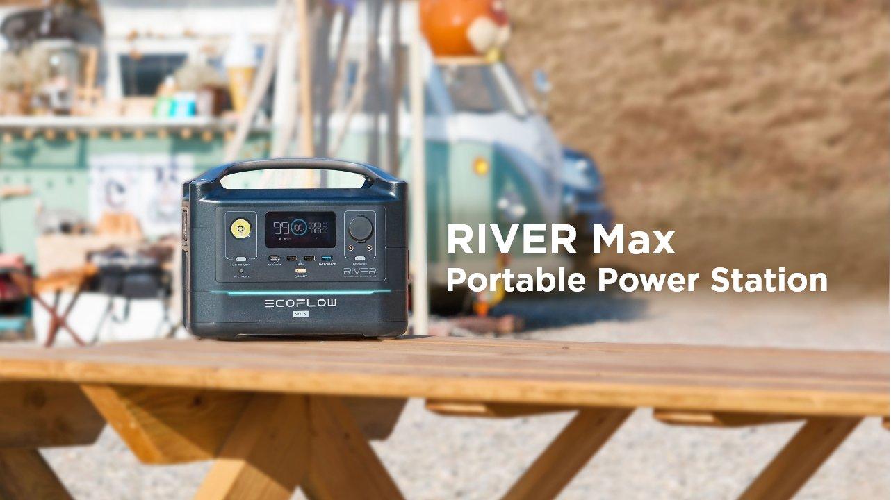 EcoFlow River Max Portable Power Station Lifestyle 1