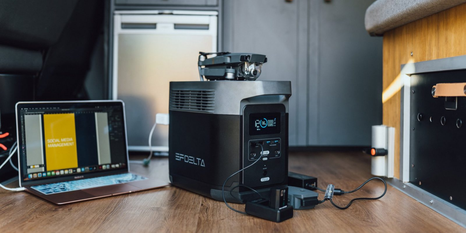 The world's fastest charging portable power stations