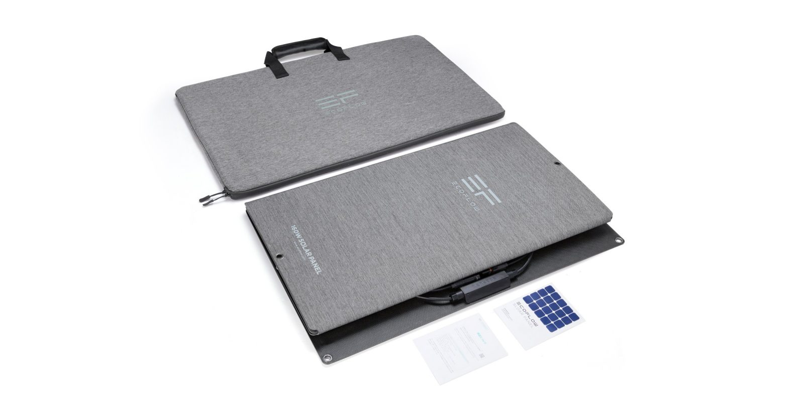 Whats in the box EcoFlow 160W Solar Panel