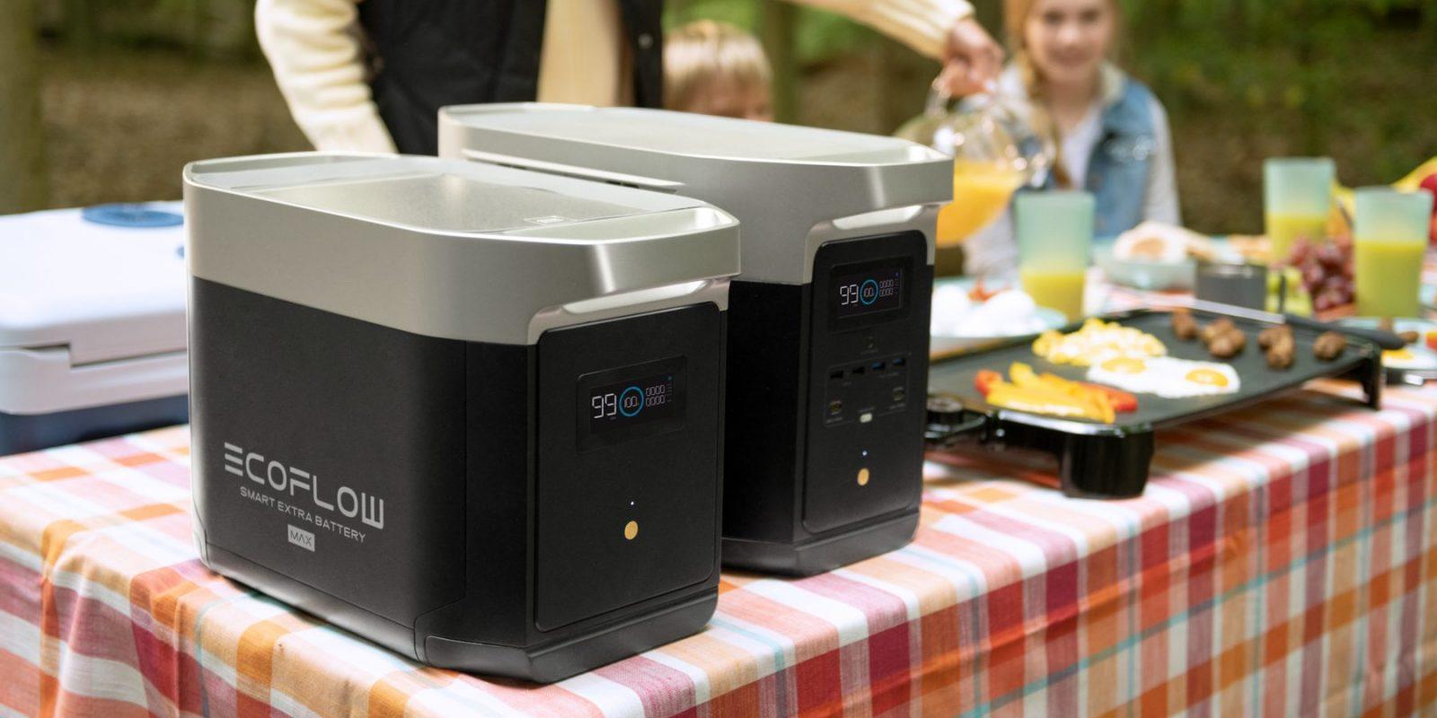 EcoFlow Delta Max Expandable Home Backup Power