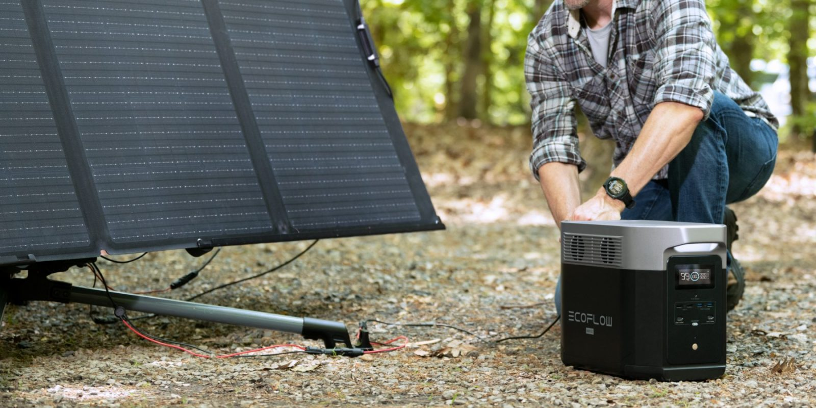 EcoFlow Delta Max Harness The Power of The Sun